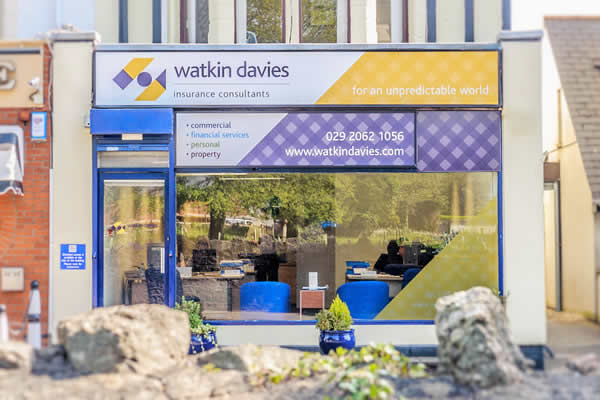 Watkin Davies office in Whitchurch Cardiff