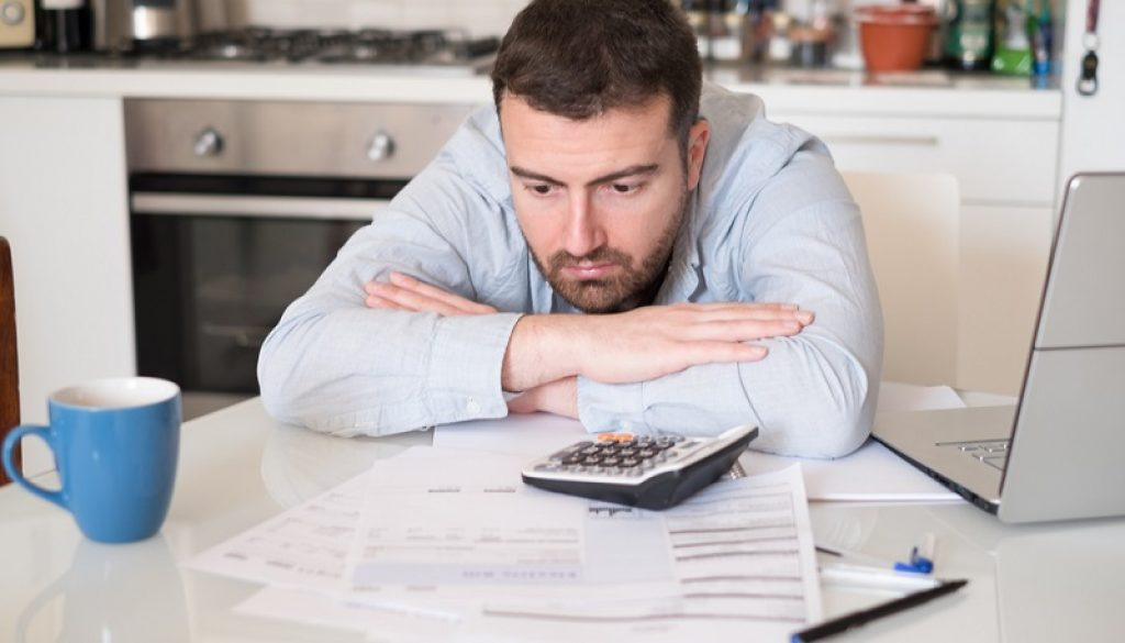 Client financial difficulty