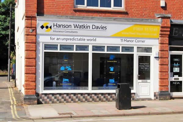 HWD Insurance in Paignton
