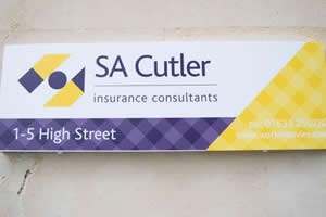 SA Cutler Office Sign