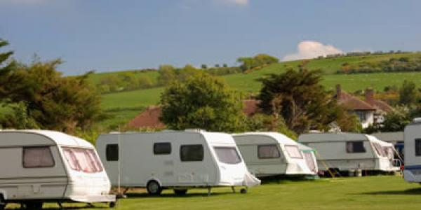 Insuring Caravans on a site